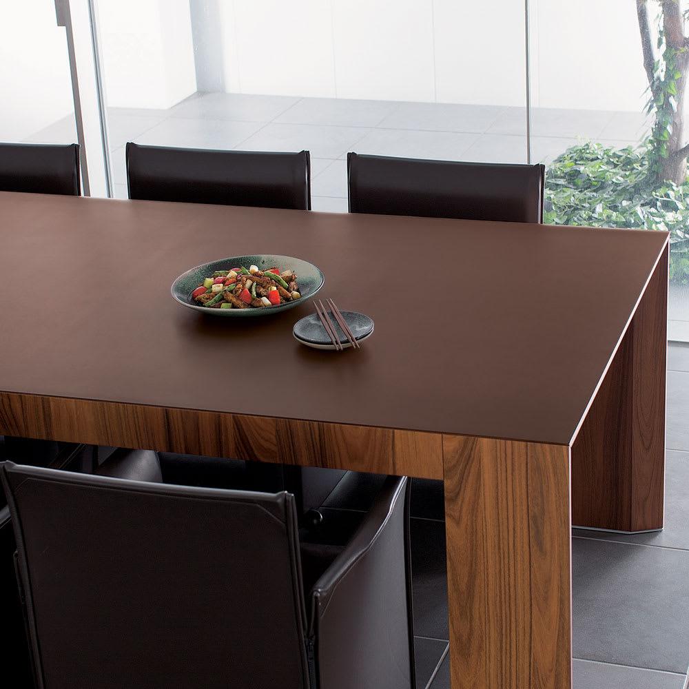 本革調テーブルマット 約90×60cm 702679