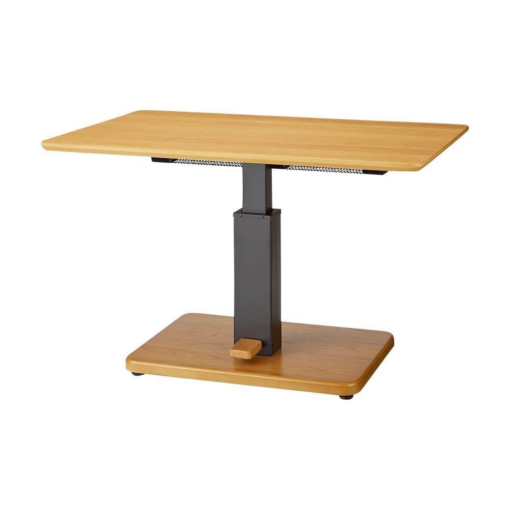 布団がいらないダイニングこたつシリーズ 昇降式こたつテーブル 幅120cm 704002