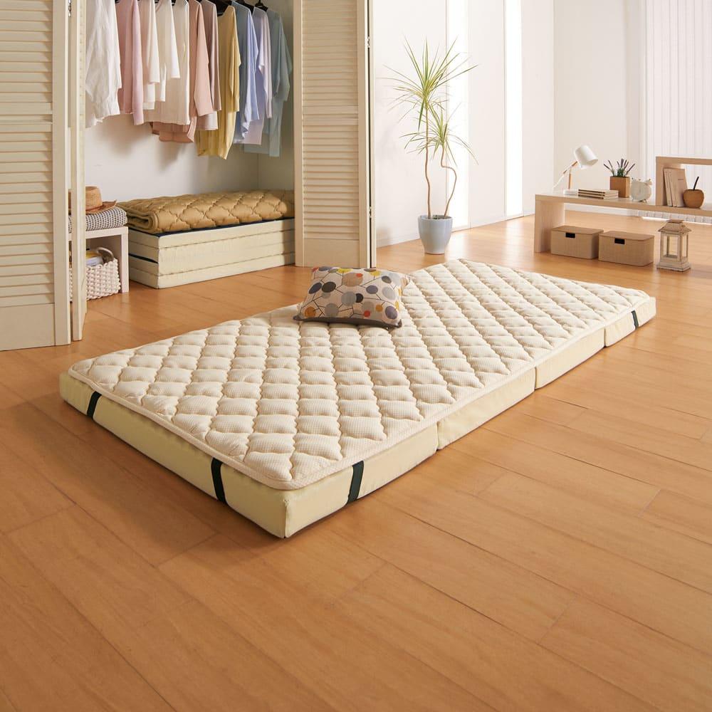 2段ベッド用 (システムコンパクトマットレス ふかふかパッド(上層のみ)) 706970