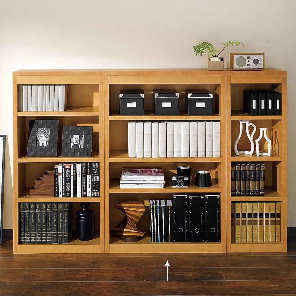 頑丈棚板がっちり書棚(頑丈本棚) ミドルタイプ 幅80cm 711827