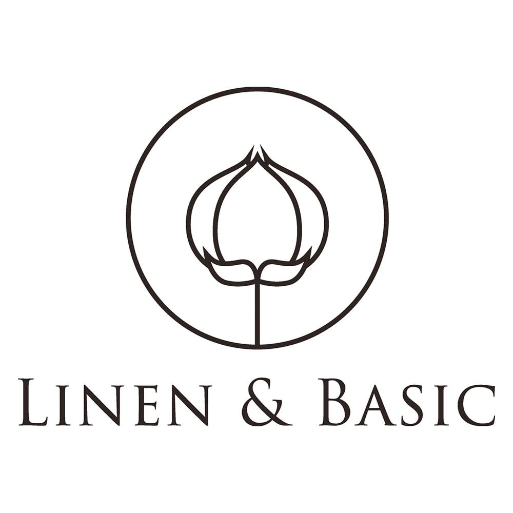 【LINEN & BASIC/リネン&ベーシック】 リネン100%カバーリング ピローケース(1枚) 素材の良さを知り尽くした丁寧で良質なモノづくりを手がける注目のリネンブランド「リネン&ベーシック」