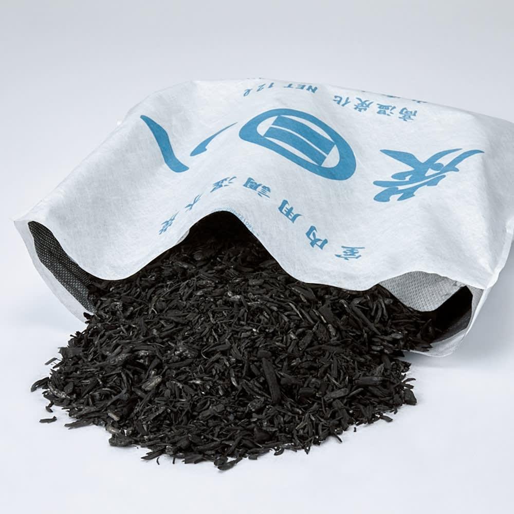 調湿木炭「出雲屋 炭八」 12リットル×4個 特典付き(スマート小袋2個) 調湿力の高い炭がどっさり
