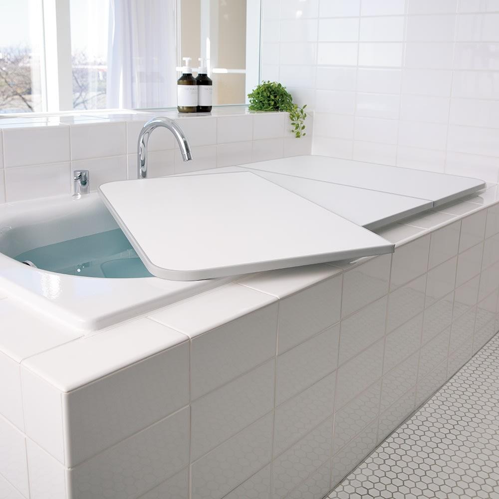EO新冷めにくい風呂ふた 68×140cm迄 (イ)グレー