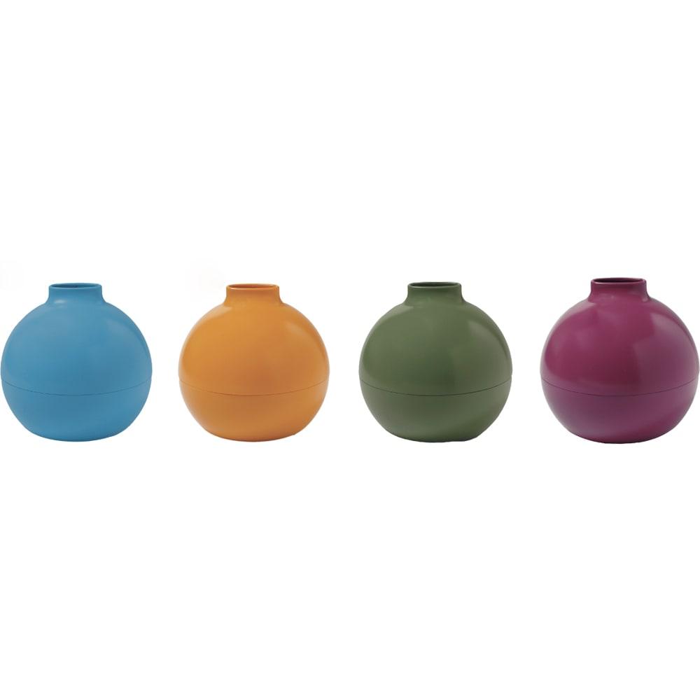 ペーパーPot(ポット) ティッシュケース 色が選べる2個組 全31色 マット仕上げタイプ (ミ)マットブルーグレー、(ム)マットマスタード、(メ)マットモスグリーン、(モ)マットバーガンディ