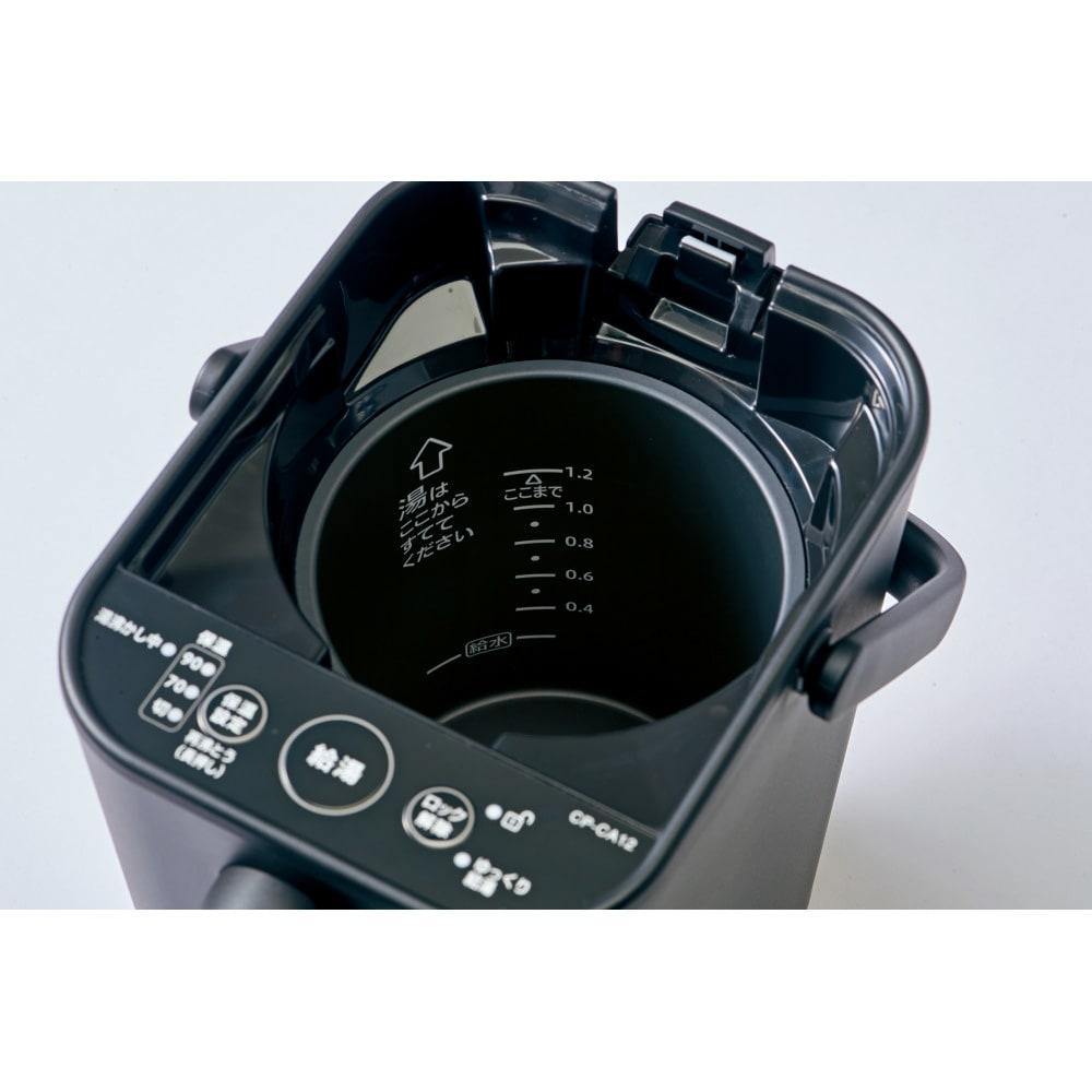 象印 STAN. /スタン 電気ポット 必要量を湯沸かしするのに便利な内容器水量目盛り