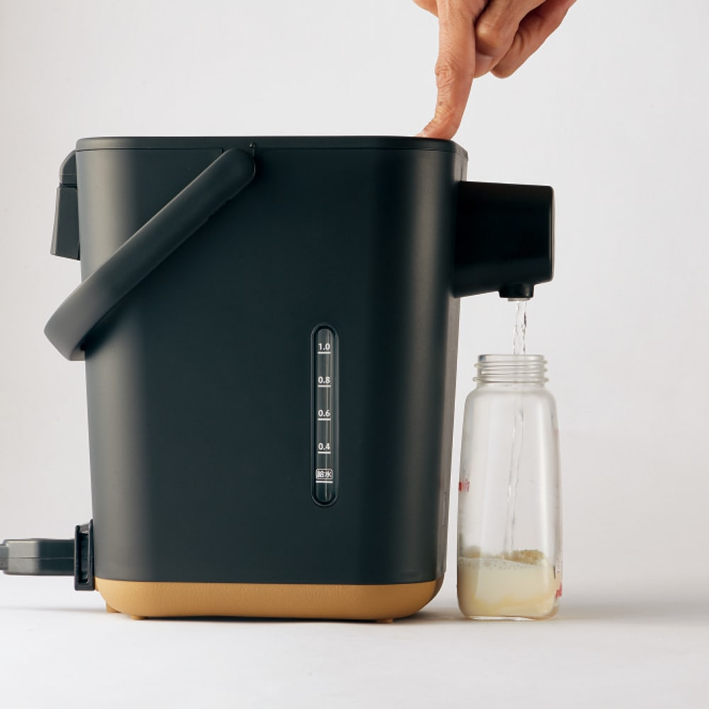 象印 STAN. /スタン 電気ポット ミルク作りに便利な70℃保温