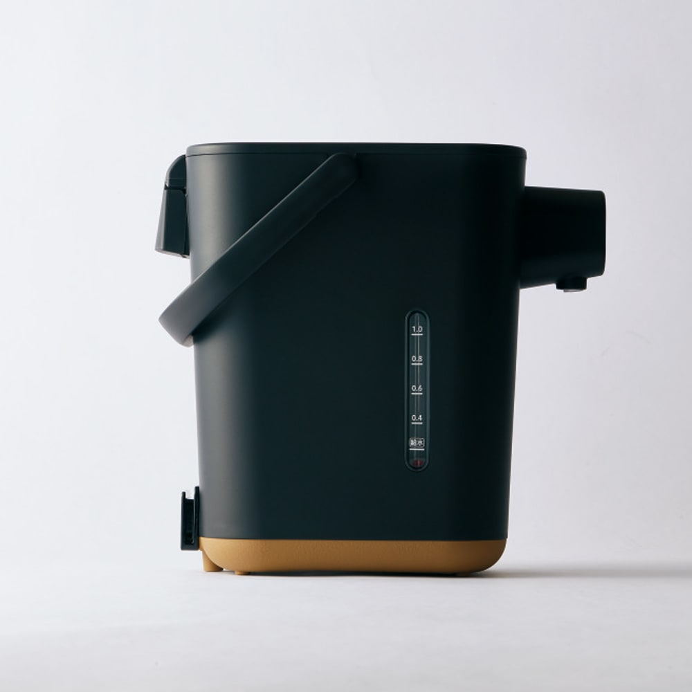 象印 STAN. /スタン 電気ポット ふたを開けなくてもお湯の残量が外から分かる赤玉水量系