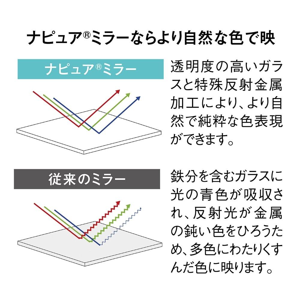 ナピュア(R) LEDスタンドミラー