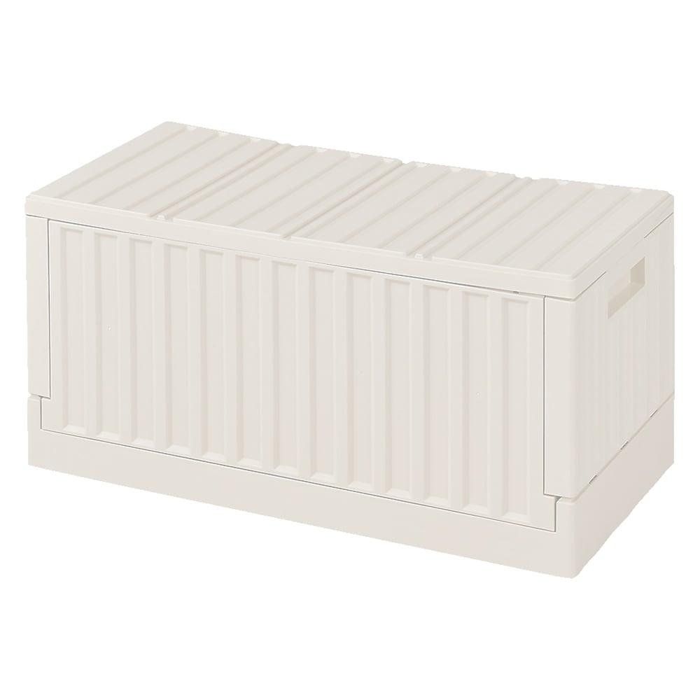 コンテナストレージボックス 単品 (イ)ホワイト