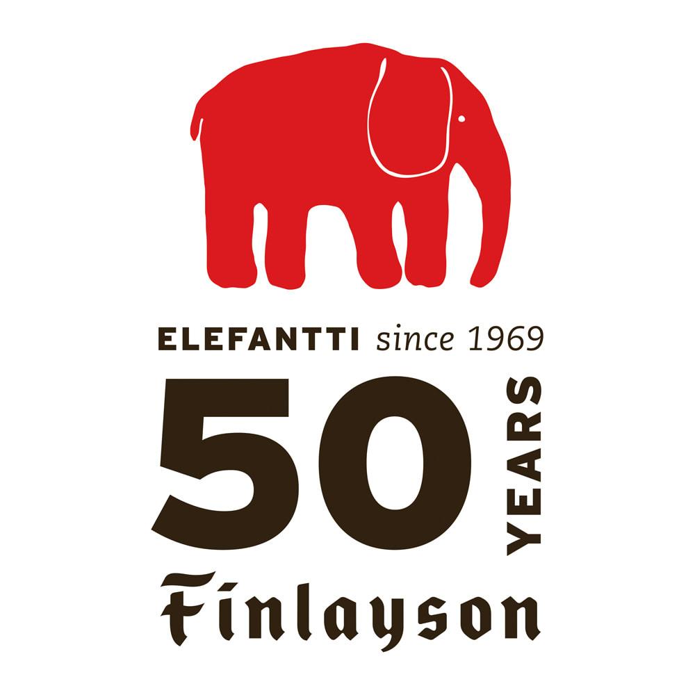 【Finlayson/フィンレイソン】エレファンティ ガーゼ&ピローパッド同色2枚組