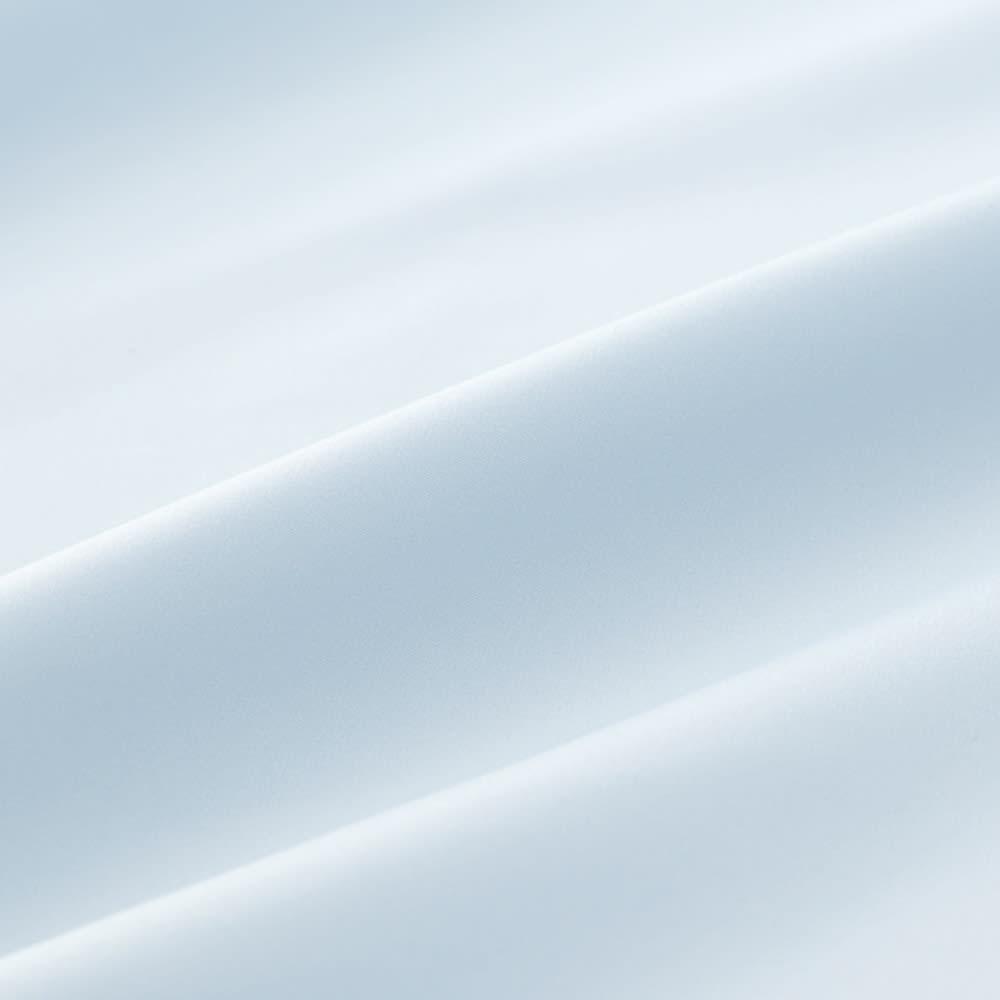 ミクロガード(R)スタンダードシーツ&カバーシリーズ ベッドシーツ セミダブル (イ)ブルー 肌になじむ、しなやかで心地いい肌触り。