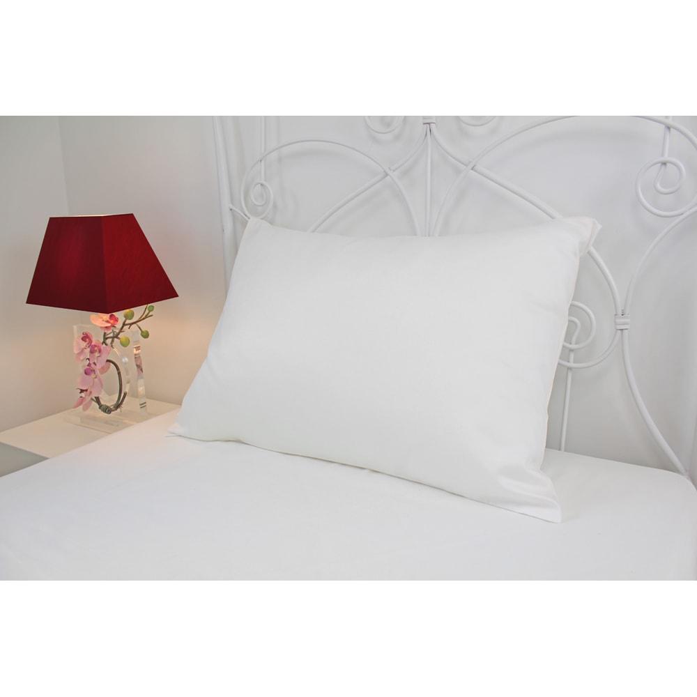 フィベールピロープレミアム 専用枕カバー ハーフボディ用(1枚) 使用イメージ ※写真は大判サイズです。