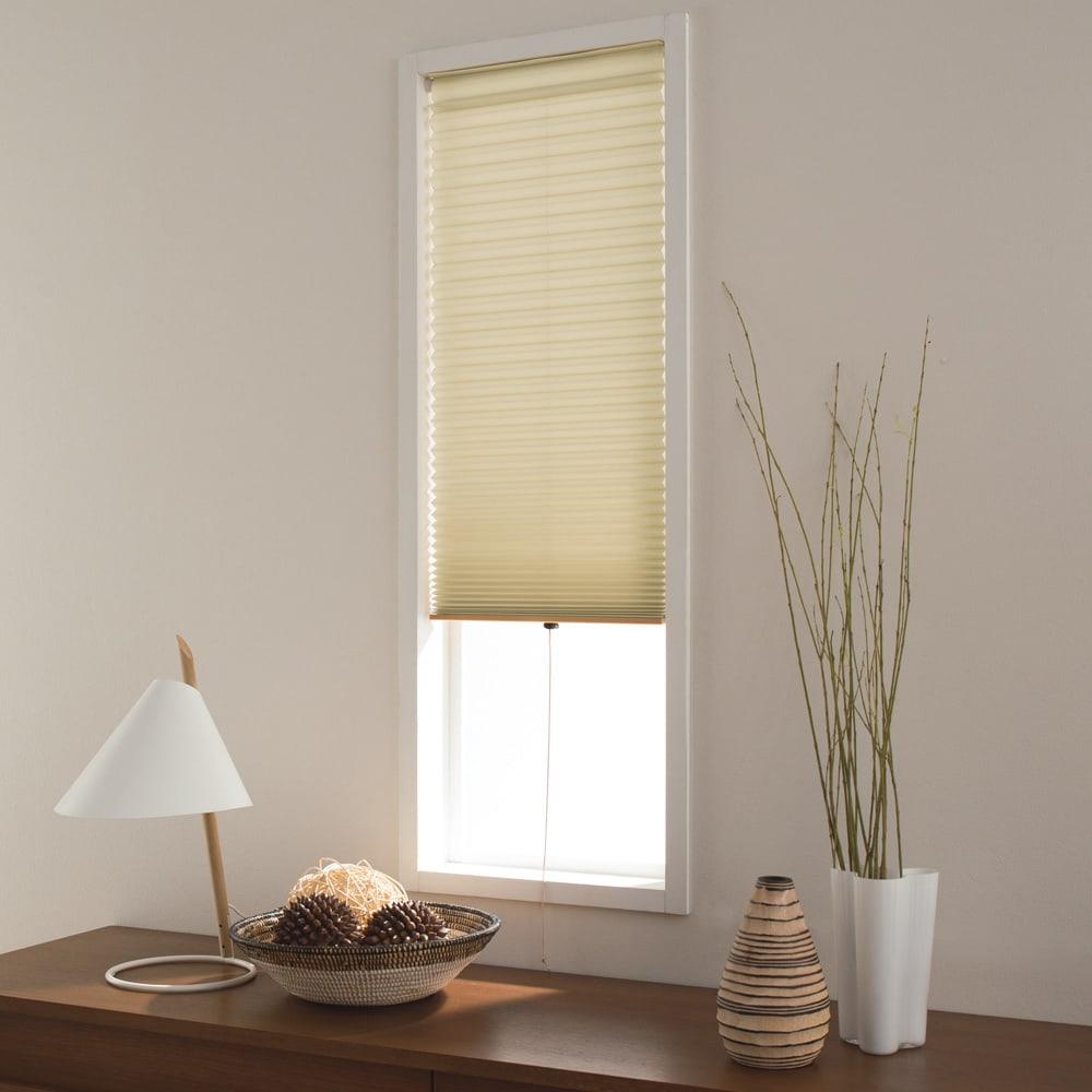 対応窓幅60~62cm(生地幅59cm)丈80~90cm(ハニカム構造の小窓用シェード) 776522