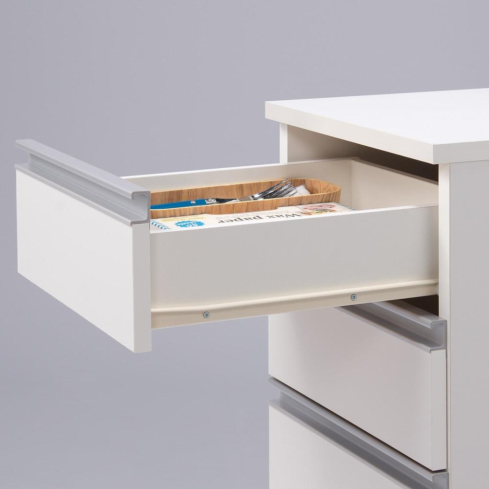 分別ごみ箱付きすき間収納庫 3分別 ハイタイプ
