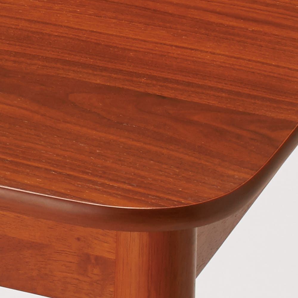 ウォールナット伸長式ダイニング テーブル 伸長式テーブル・幅130・170cm 天板は木目の美しいウォルナット突板。