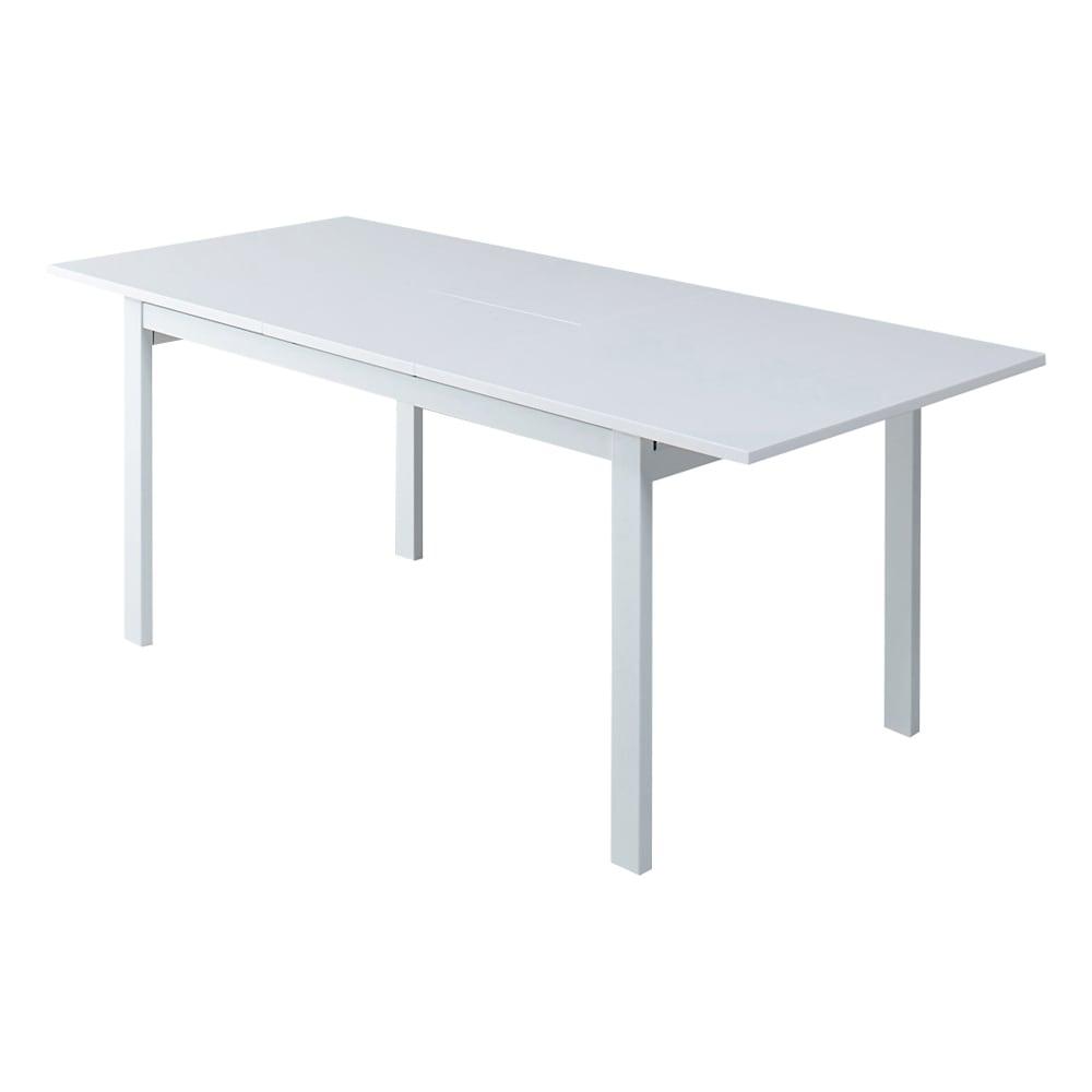 簡単伸長!スマート伸長式テーブル 幅140・180cm (伸長時) 幅180cmへ伸長します。