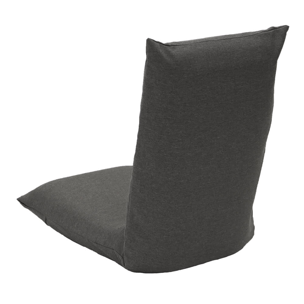 「サイズを選べる」腰にやさしいリラックスチェアII 専用洗えるカバー付き (イ)グレー