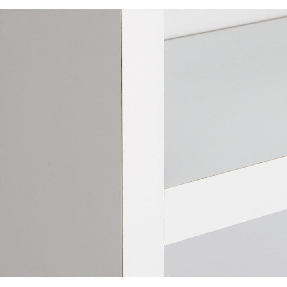 天井突っ張り式がっちりすっきり壁面本棚 奥行22.5cmタイプ 1cm単位高さオーダー 幅100cm・高さ207~259cm (ア)ホワイト