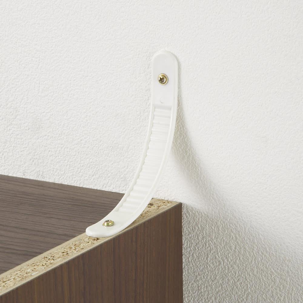 工夫満載!壁面書棚(本棚)リフォームユニット 幅60奥行31高さ180cm 転倒防止金具付き。