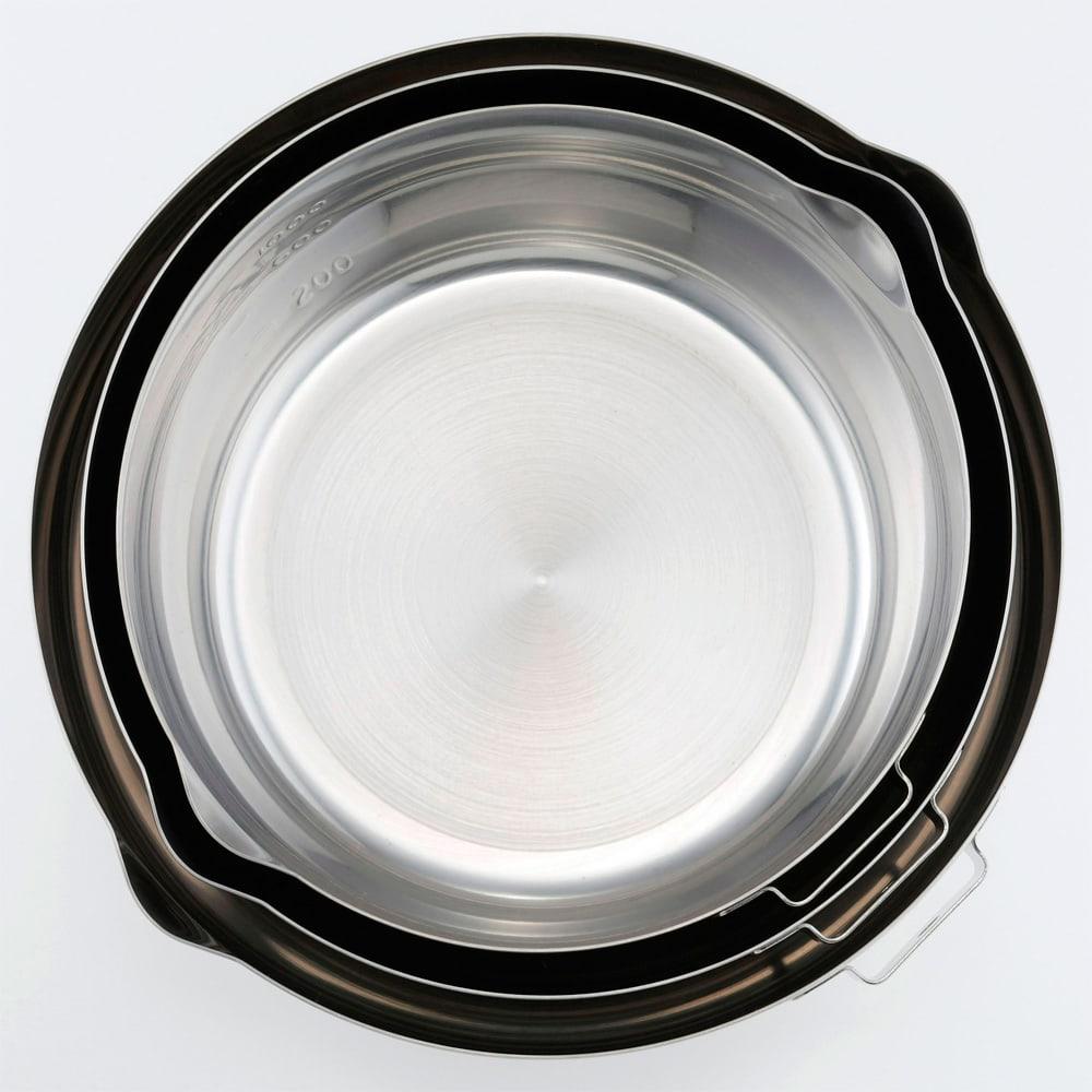 メイド・イン・ツバメ 国産ゆきひら鍋 5点セット 重ねて収納できます。