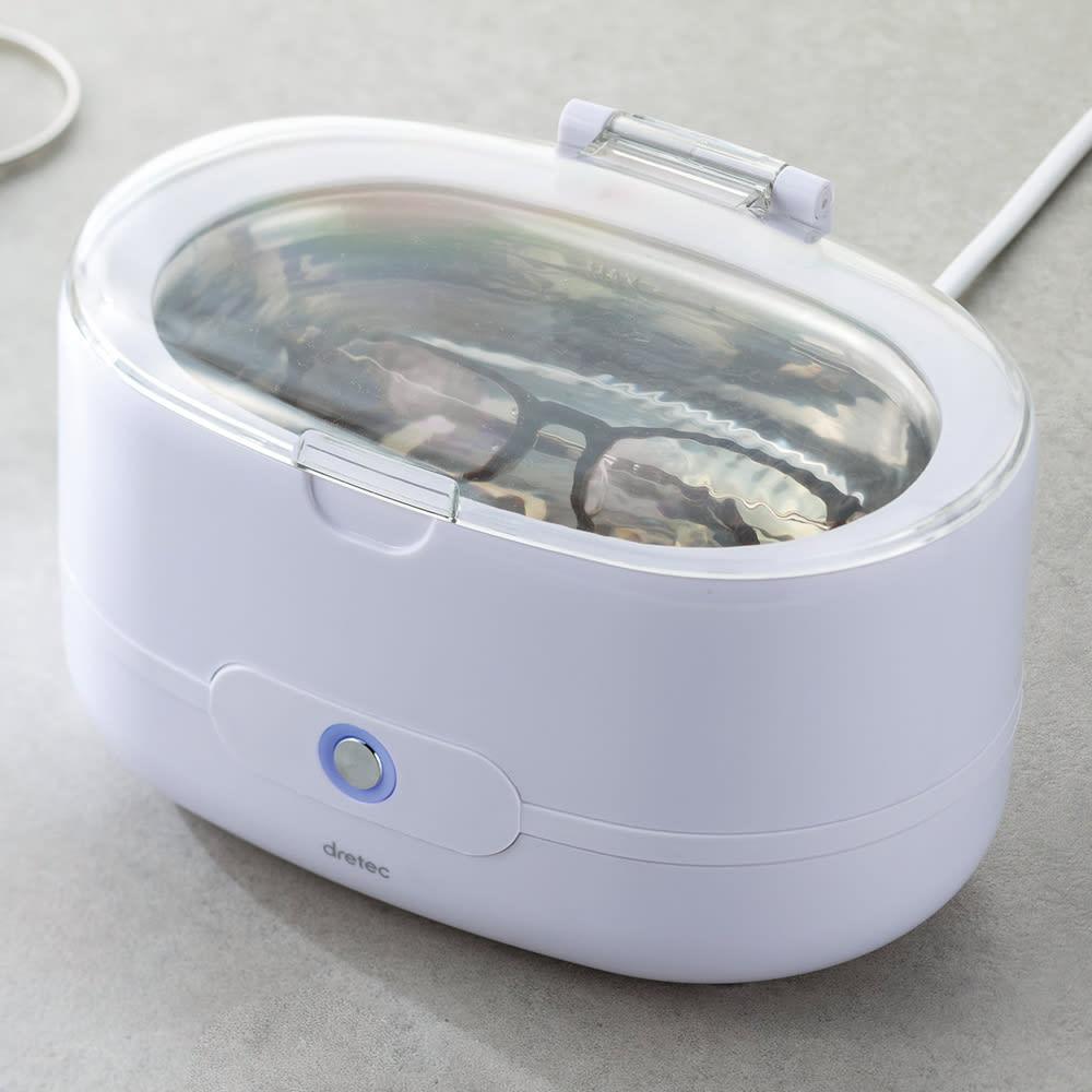超音波洗浄機 (ア)ホワイト