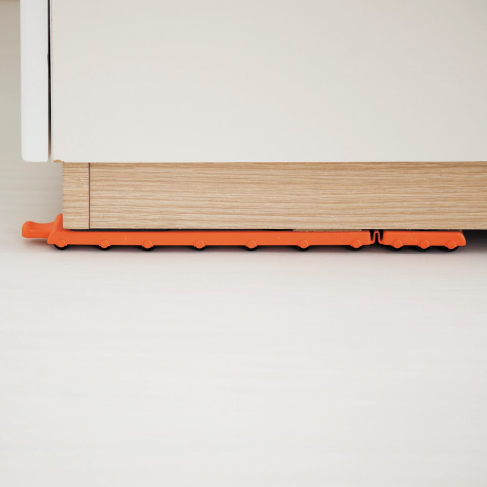 パワフルキャリー長尺台車セット 200kgまでの家具をスイスイ移動可能。