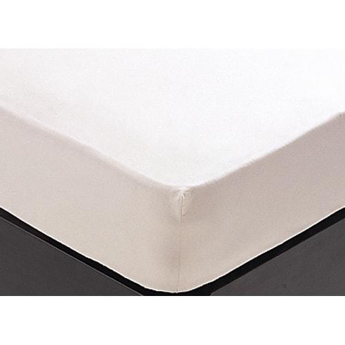 24サイズバリエーションベッド専用シーツ&パッド 長さ195cm シーツは縮みの少ない高級綿ブロード地で、着脱の容易なボックス式。