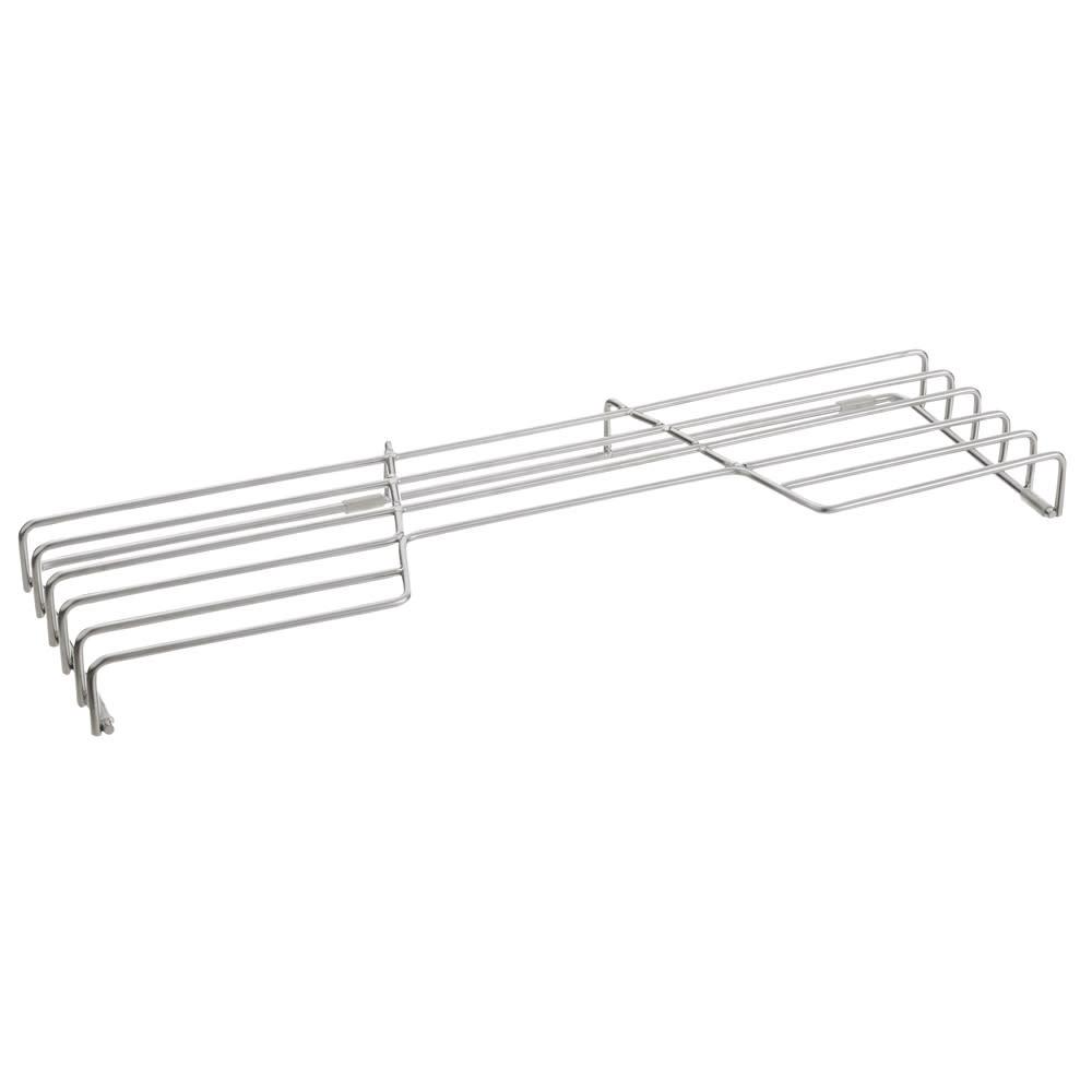 オールステンレス頑丈コンロ奥ラック コンロ幅60cm用 交差の少ない構造なので、お手入れもサッと簡単です。