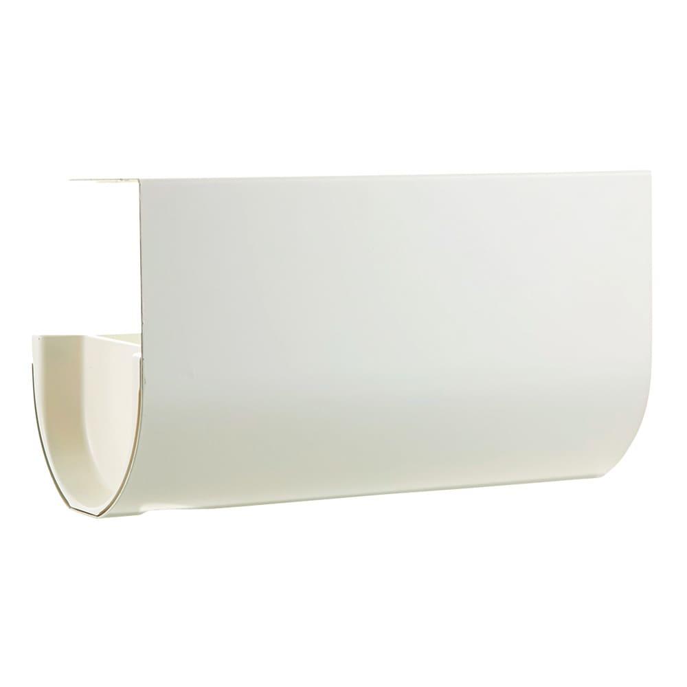 UCHIFIT ウチフィット 吊戸棚下のキッチンペーパーホルダー ロールタイプ用 ア)清潔感のあるホワイト