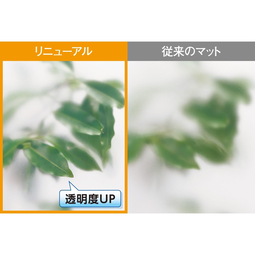 アキレス 透明キッチンフロアマット Neo (奥行60cm) 「もっと透明に!」のお声にお応えして、アキレス社の透明マットがリニューアル。