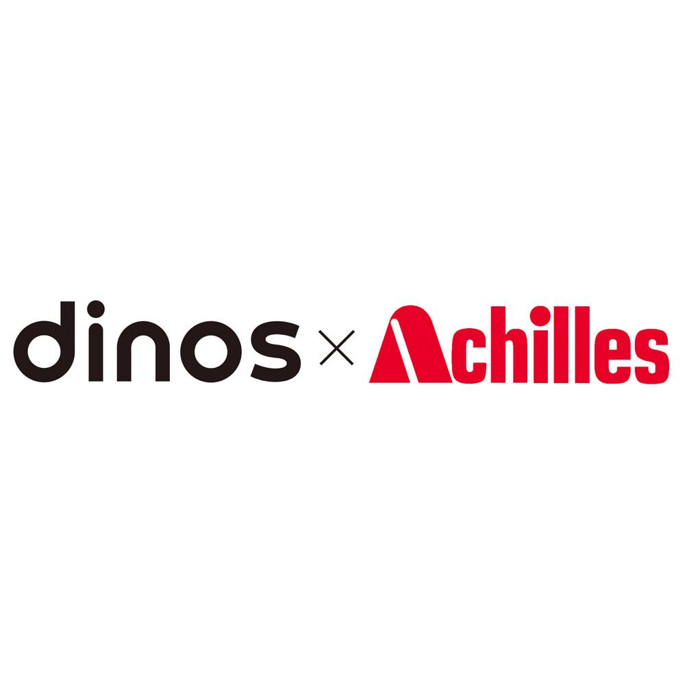 本革調チェアマット ディノスとアキレスが共同開発しました。