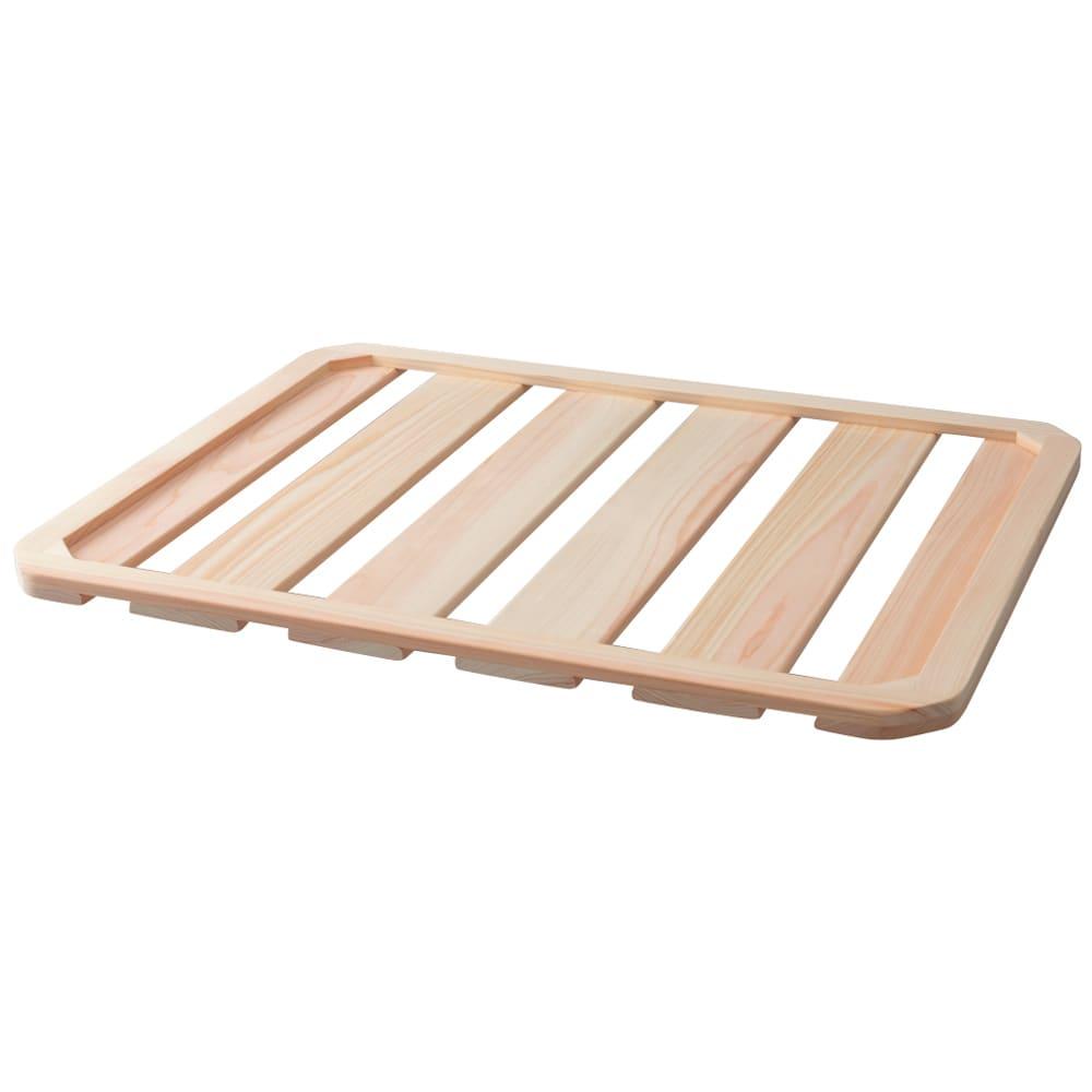 soleau 吸水・速乾・消臭バスマット&スノコ お得な2点セット スノコ大…大・小のMoiss素材バスマットがすっぽり枠に収まる専用スノコをご用意。水はけのよいヒノキ製で、万が一の破損を防ぎながら気持ちよく使えます。