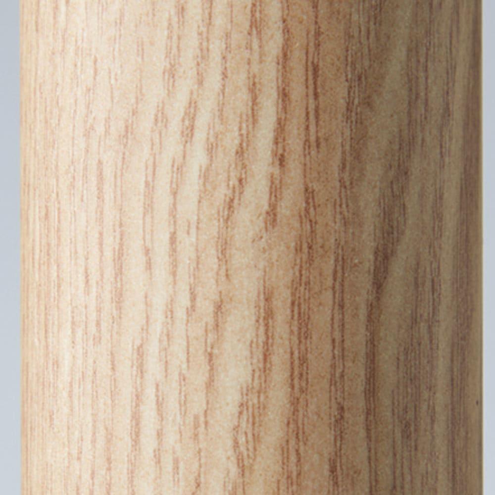 取付簡単窓枠突っ張り物干し 伸縮竿3本付き (ウ)ナチュラル木目 お部屋に合わせて選べる3色! カラーはホワイト、木目調のダークブラウンとライトブラウンの3色をラインナップ。