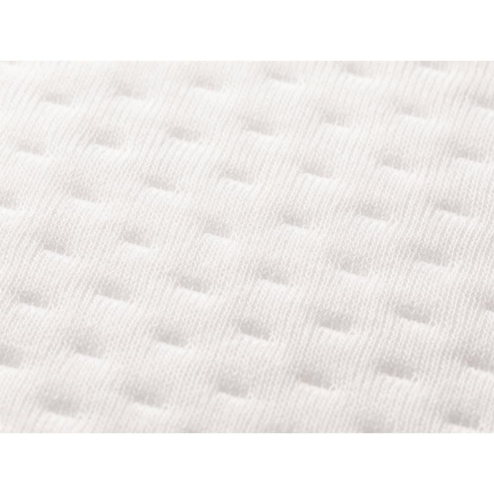 ブリヂストン ボリューム高反発敷布団シリーズ お得な敷き布団&枕セット やわらかニット生地側生地は肌ざわりのよいやわらかなニット。中素材の快適さを引き立てます。