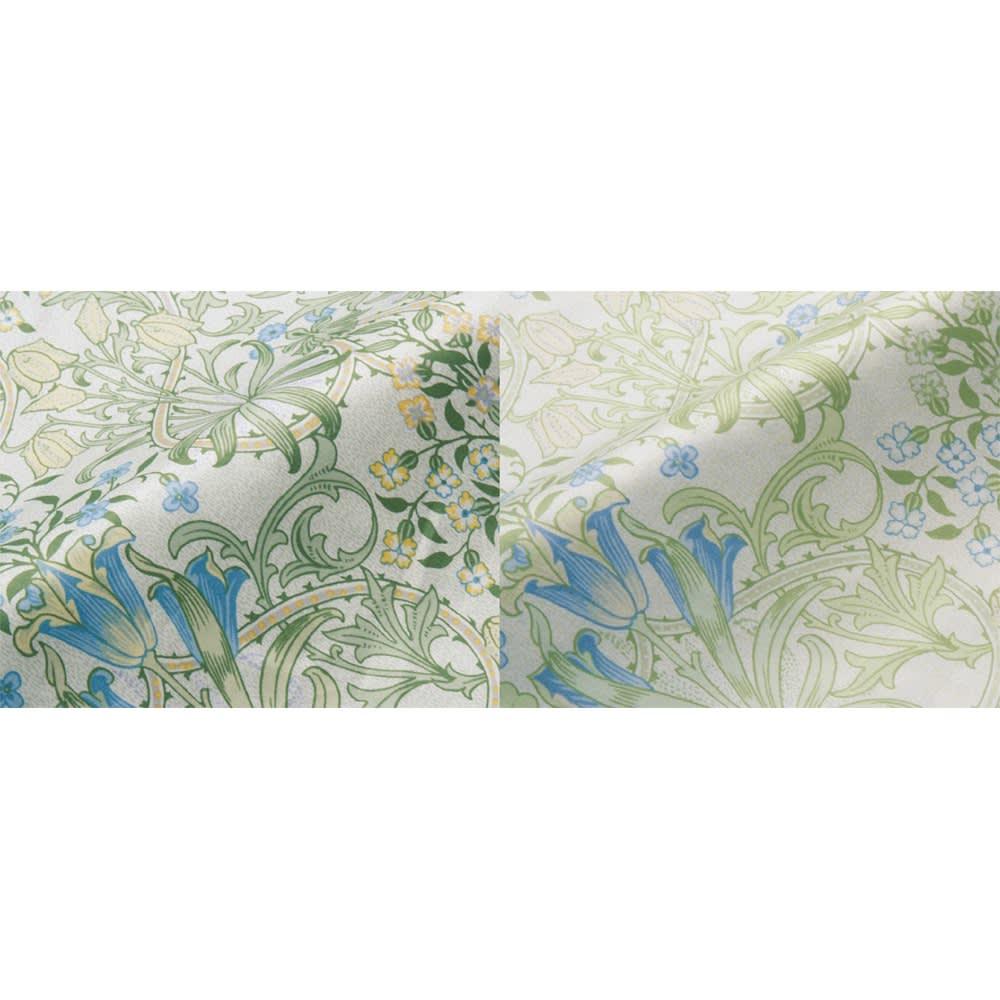 V&A ウッドランド柄カバーリング 掛けカバー [生地アップ] (ア)ブルー ※片面は同系淡色です。