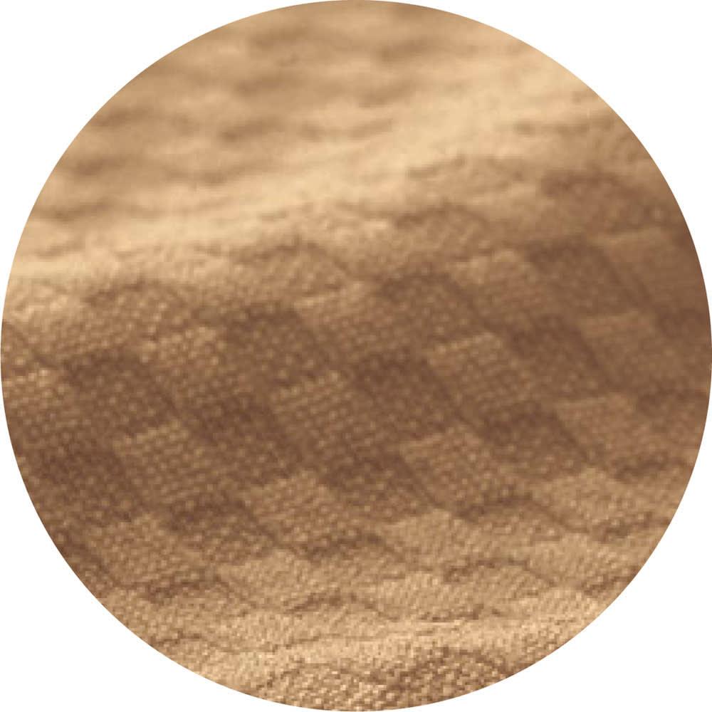 ピタッと収納 4つ折りシステムコンパクトマットレス システムマットレス(上層+下層8cm) 洗える上層は、吸水速乾ニットの表地で、肌触りもサラッと快適。 (イ)ブラウン