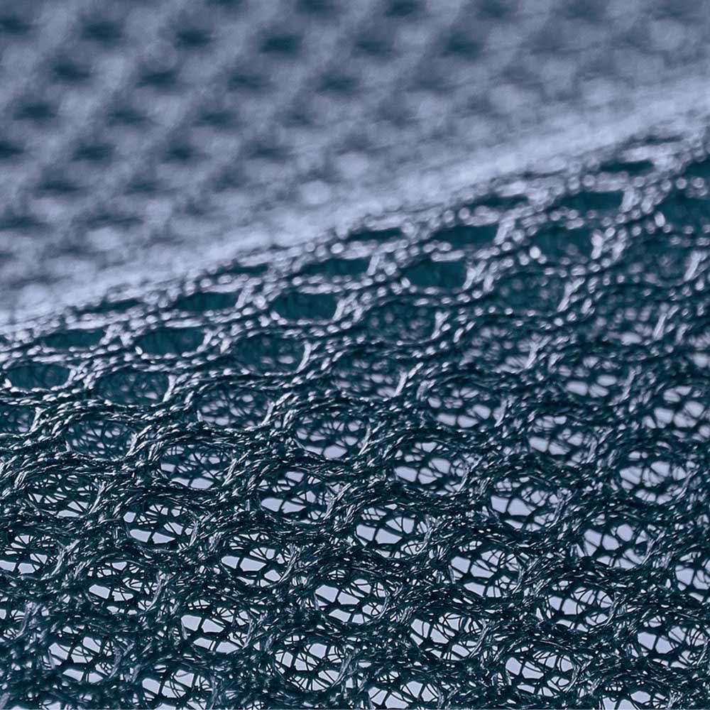 【アキレス×dinos】3つ折りマットレスシリーズ 厚さ12cm 調湿タイプ [裏面メッシュ] 不快な湿気やムレをウェーブ加工と側生地裏面のメッシュでサラッと放出。