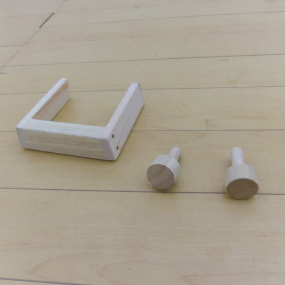 畳空間を簡単に演出できる折りたたみベッド(棚なし) 開き留めストッパー付