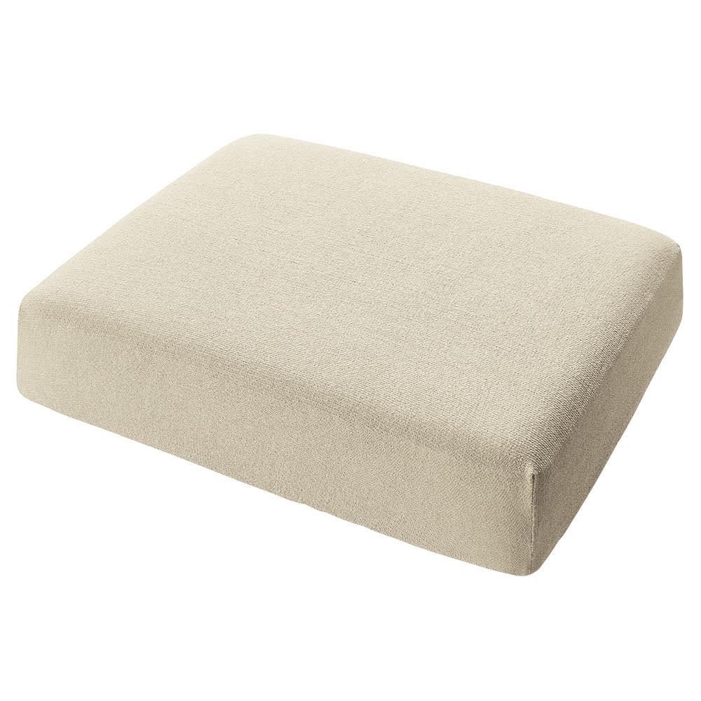 スペイン製カバー[エデン]座面・背もたれ兼用カバー(1枚) (ア)アイボリー ※写真は1人用サイズです。