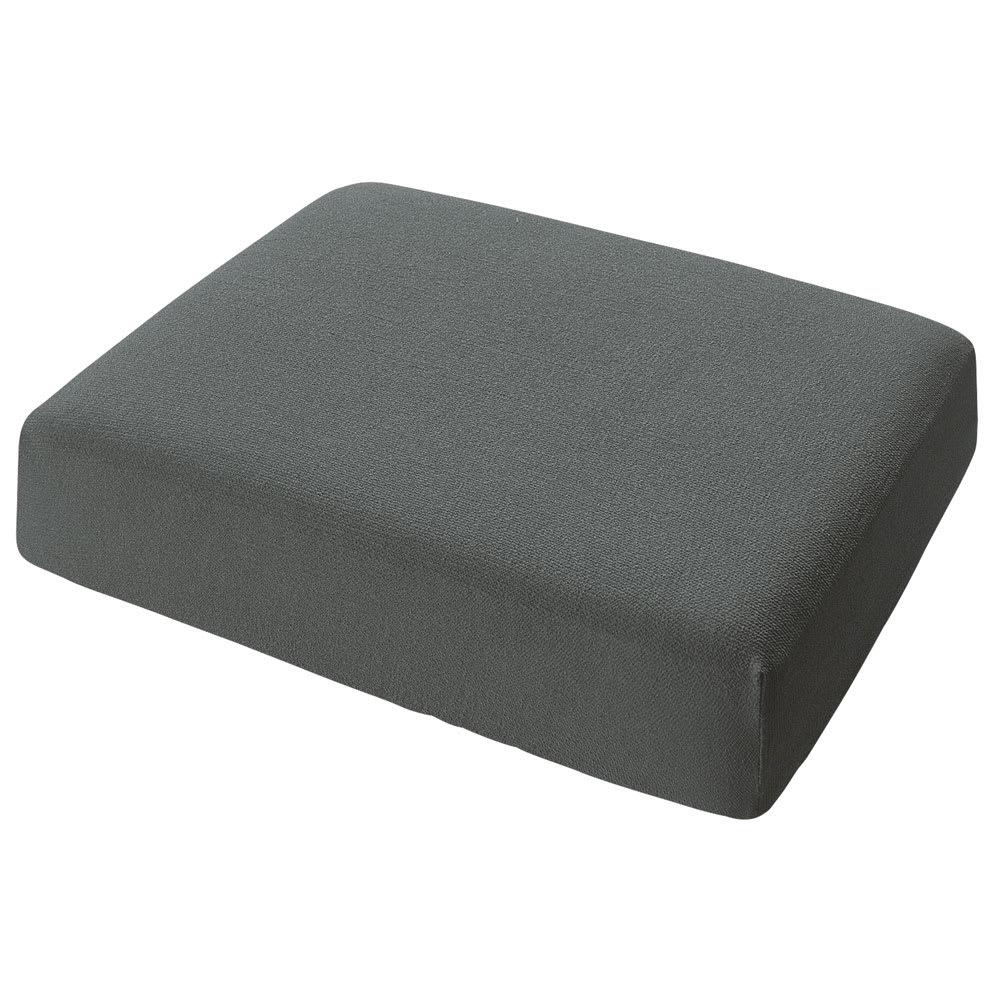 スペイン製カバー[エデン]座面・背もたれ兼用カバー(1枚) (キ)グレー ※写真は1人用サイズです。
