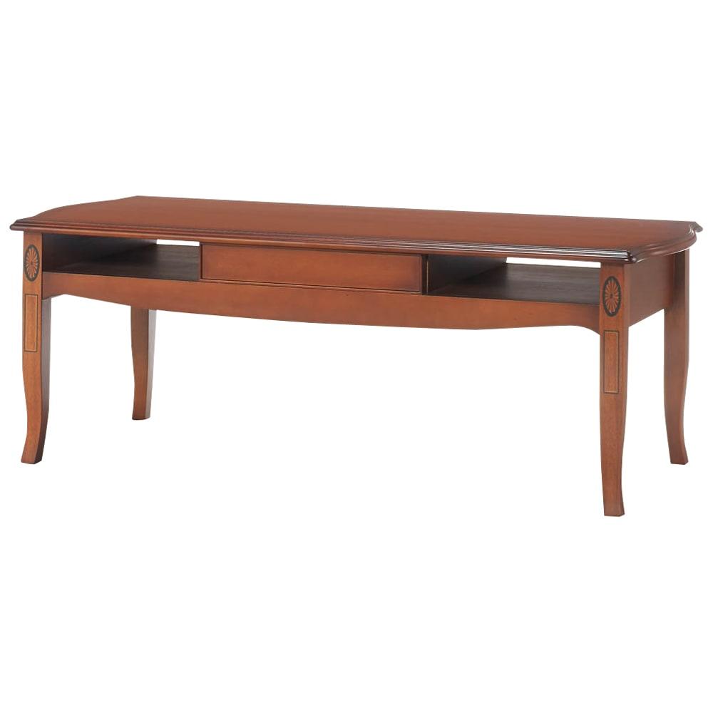 ベネチア調象がんシリーズ センターテーブル・幅110cm(引き出し付き) 背面