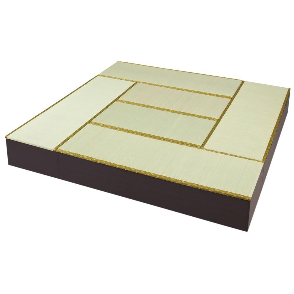 ユニット畳シリーズ お得なセット 8畳セット 幅240奥行240cm 高さ31cm 507629