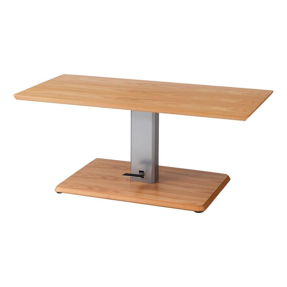 移動がしやすい!キャスター付き昇降式テーブル幅120 ≪高さ50cm時≫