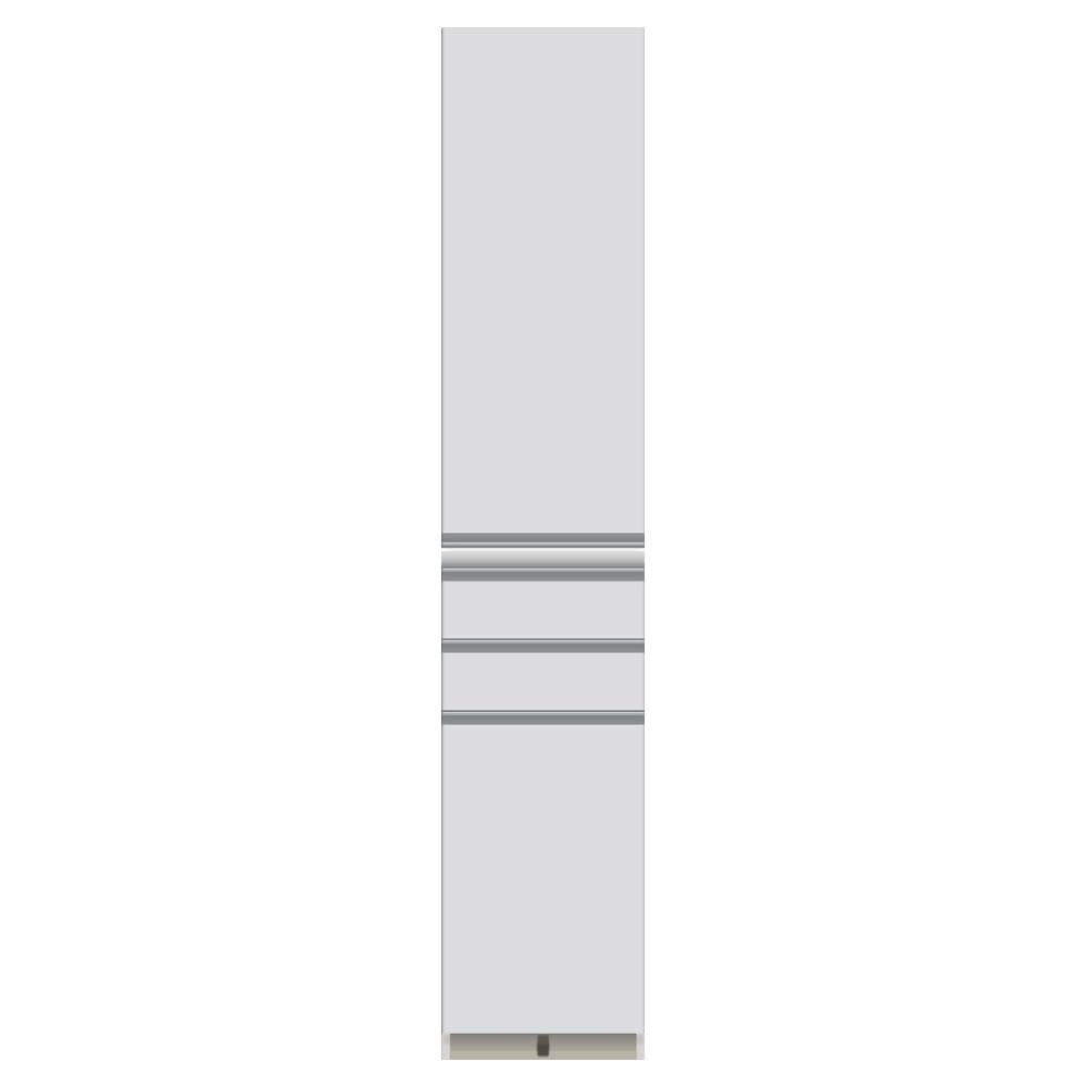 家電が使いやすいハイカウンター奥行50cm 食器棚高さ203cm幅40cm/パモウナDQ-400KL DQ-400KR お届けの商品はこちらになります。
