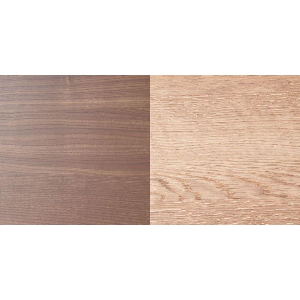 大型レンジがスッキリ隠せるダイニングボードシリーズ 食器棚・幅57.5cm 左から(ア)ダークブラウン(ウ)ブラウン