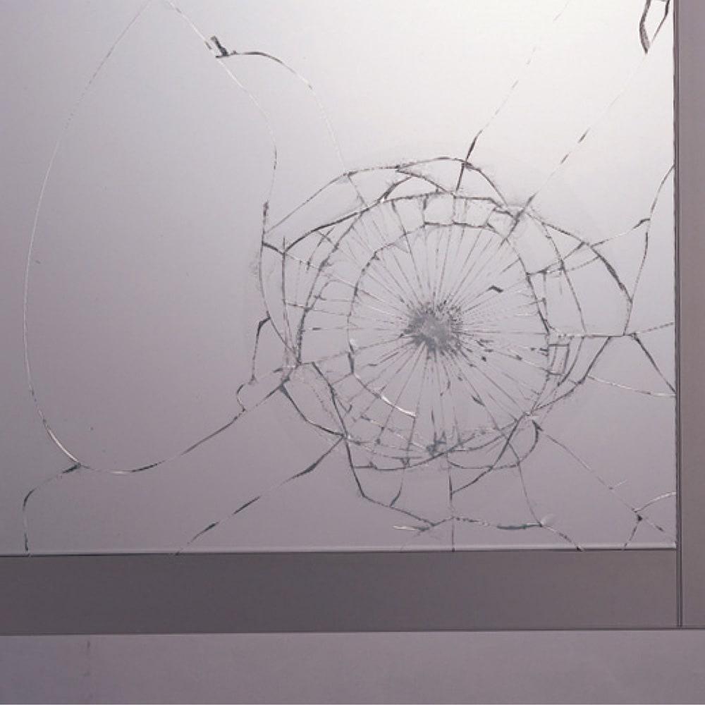ハイカウンターダイニング ガラス扉タイプ ハイカウンターボード W100D45H203/パモウナ JQL-S1000R JQR-S1000R 飛散防止フィルム貼り仕様で、ガラス破片の飛び散りを軽減します。