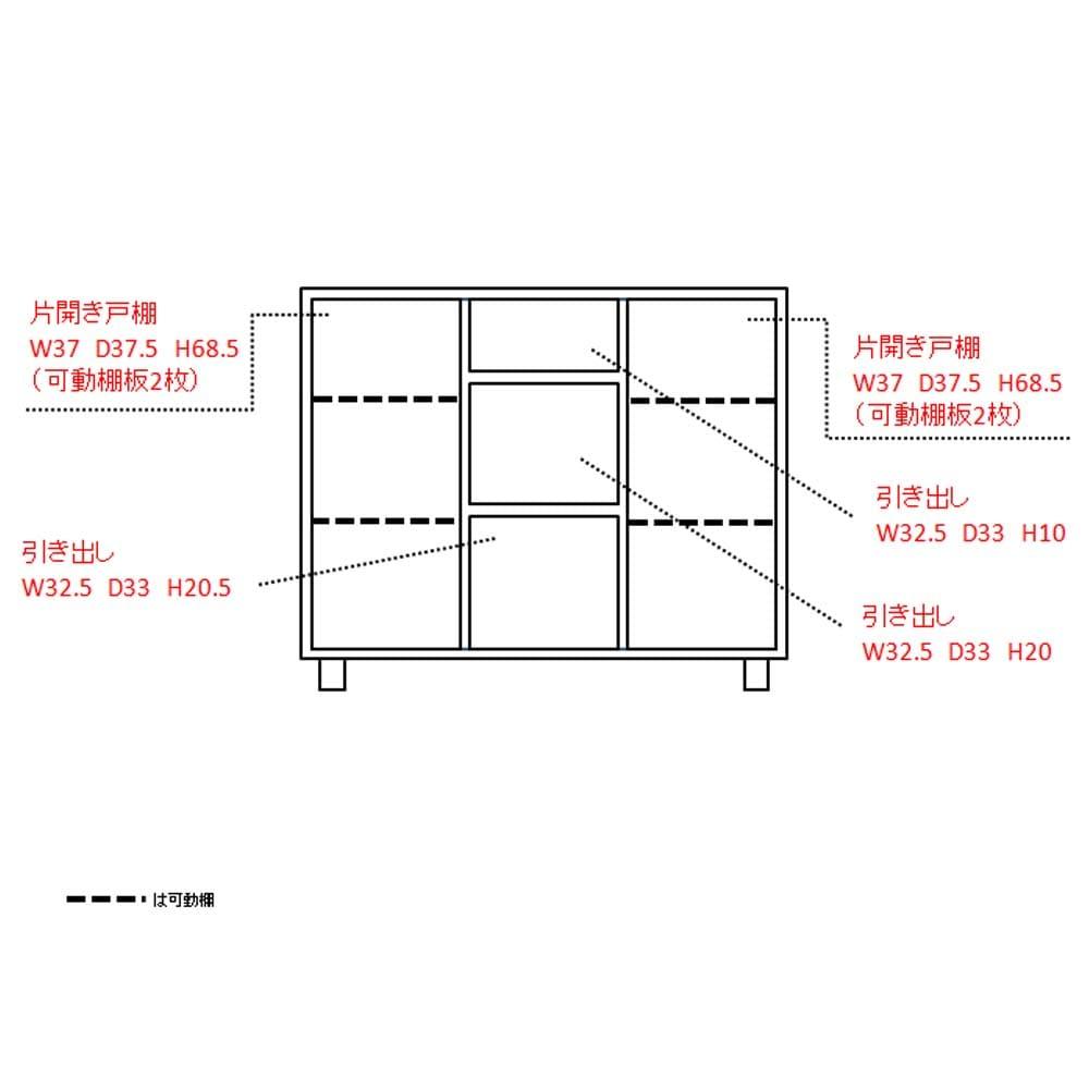 アルダー天然木アールデザインシリーズ カウンター 幅120cm