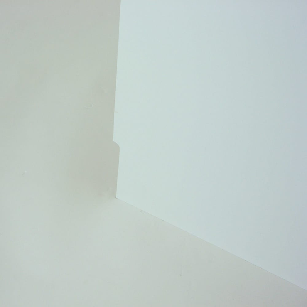 光沢仕上げダブルステンレス天板すき間収納庫 ロータイプ高さ85cm 幅20cm 幅木避けカットで壁にぴったり設置できます!!