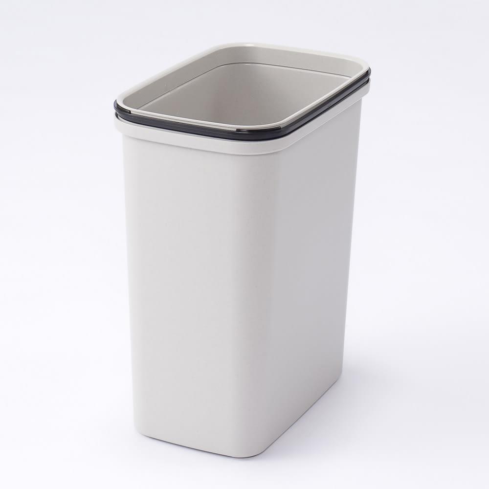 組立不要 キッチン分別タワーダストボックス 幅28.5cm スリム4分別 ゴミ箱タイプ フタ無ゴミ箱ペールサイズ・・・幅30奥行19高さ37cm