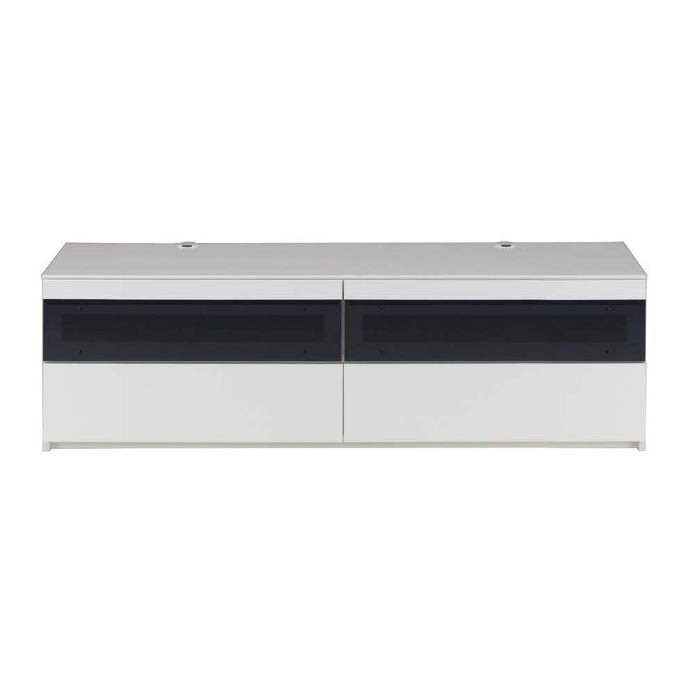 パモウナBW-160 輝く光沢のモダンリビングシリーズ テレビ台 幅160cm (ア)ホワイト テレビ台160cmタイプ